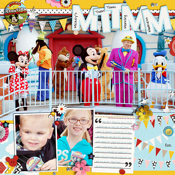 Disney digital page created by: kelsy featuring Project Mouse by Sahlin Studio & Britt-ish Designs