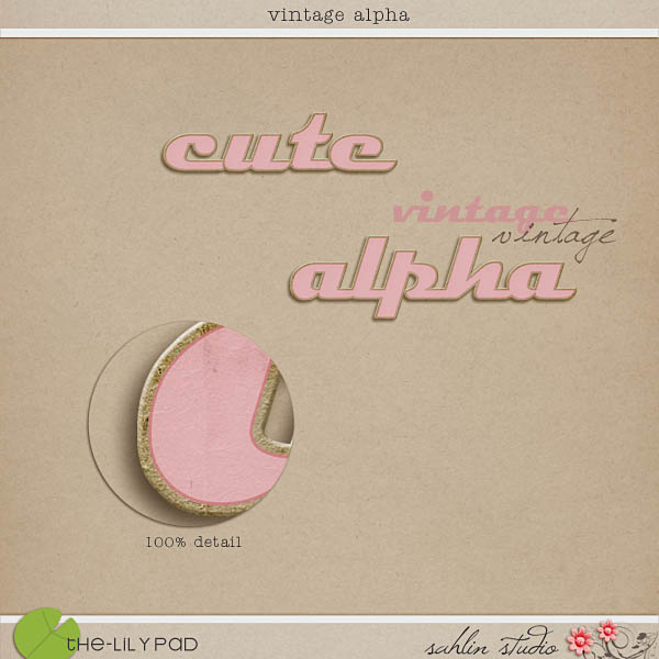 Vintage Alpha by Sahlin Studio