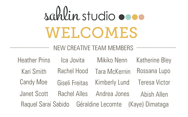 Sahlin Studio Welcomes NEW Creative Team Members