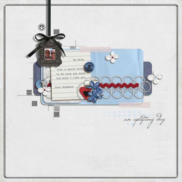 May Featured Kit layout created by bensmommy featuring Innovation by Sahlin Studio