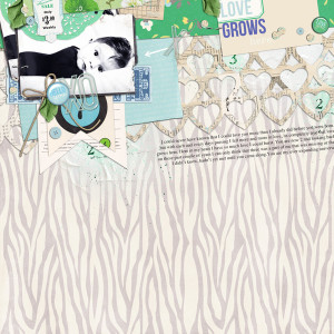 "Digital Scrapbook page created by justagirl featuring ""Down the Lane"" by Sahlin Studio"