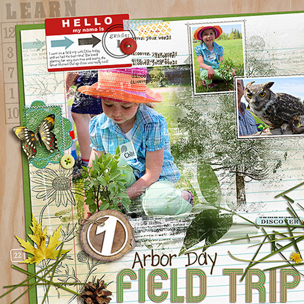 Digital Scrapbook page created by HeatherPrins featuring Project Mouse by Sahlin Studio & Britt-ish Designs