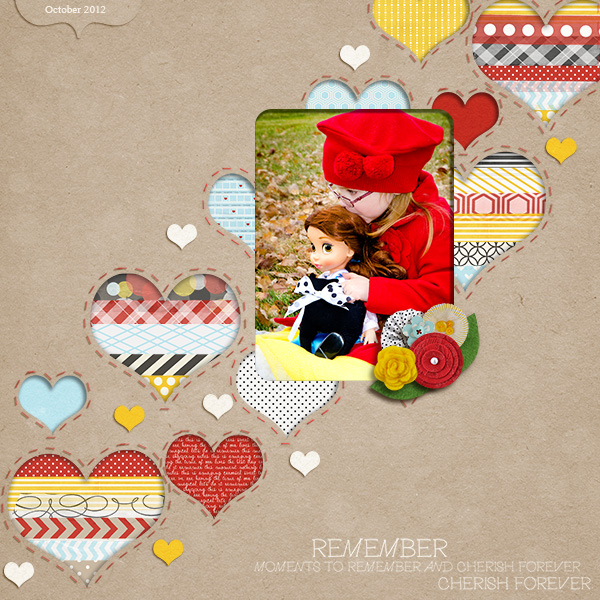 Digital Scrapbook page created by JanetScott featuring Project Mouse by Sahlin Studio & Britt-ish Designs