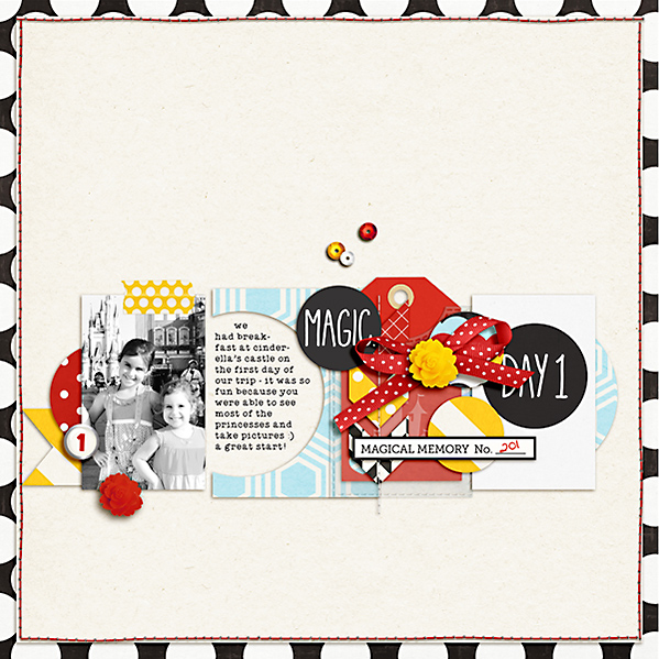 Digital Scrapbook page created by dana featuring Project Mouse by Sahlin Studio & Britt-ish Designs