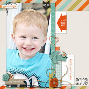Digital Scrapbook page created by kim21673 featuring Project Mouse by Sahlin Studio & Britt-ish Designs