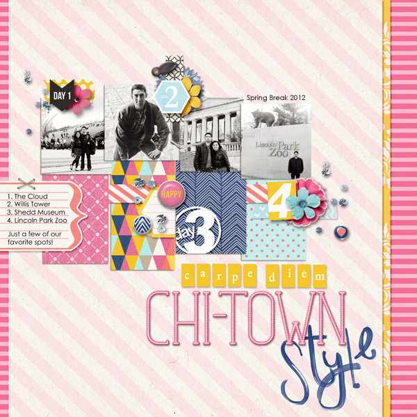 Digital Scrapbook page created by raquels featuring Project Mouse by Sahlin Studio & Britt-ish Designs