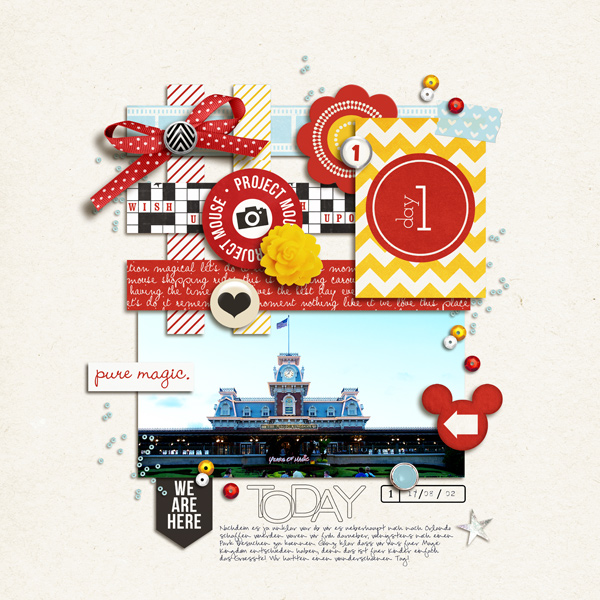 Digital Scrapbook page created by sucali featuring Project Mouse by Sahlin Studio & Britt-ish Designs
