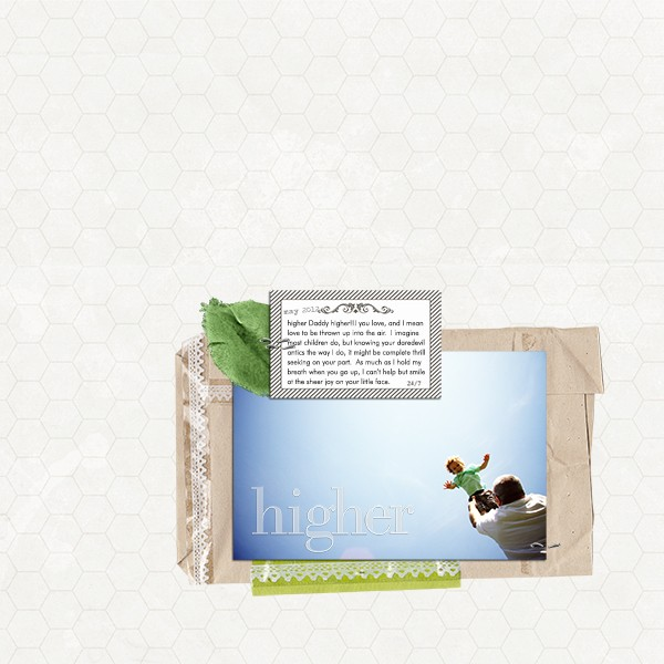 Digital Scrapbook page created by taramck featuring Down the Lane by Sahlin Studio