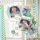 "Digital Scrapbook page created by wendy85 featuring ""Down the Lane"" by Sahlin Studio-2"