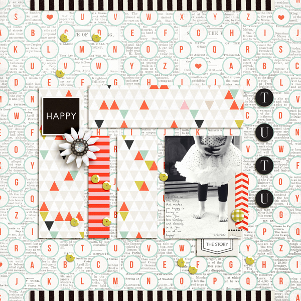 Digital Scrapbook page created by aballen featuring Melon Sorbet by Sahlin Studio