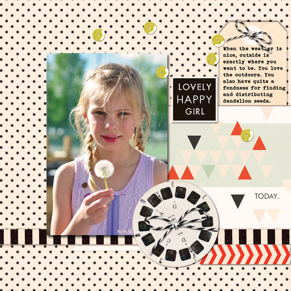 Digital Scrapbook page created by ctmm4 featuring Melon Sorbet by Sahlin Studio