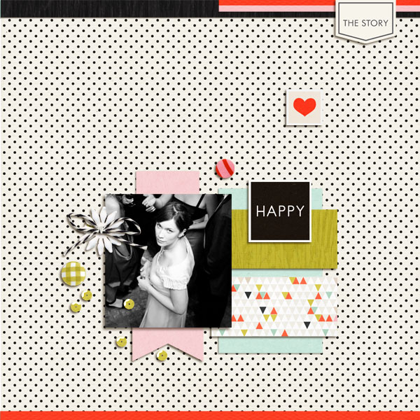 Digital Scrapbook page created by dul featuring Melon Sorbet by Sahlin Studio