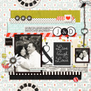 Digital Scrapbook page created by raquels featuring Melon Sorbet by Sahlin Studio