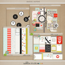 Melon Sorbet Bundle by Sahlin Studio