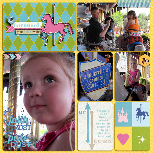 Disney Project Life page created by juliel featuring Project Mouse (Fantasy) by Sahlin Studio & Britt-ish Designs