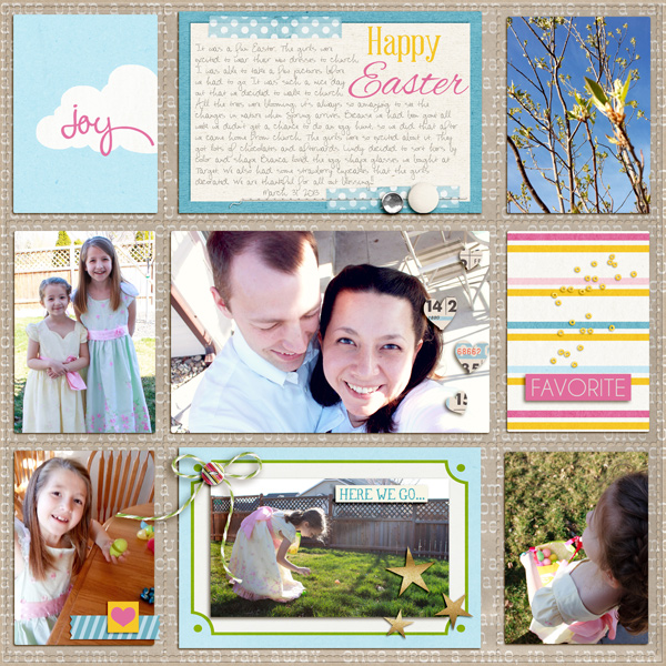 "Digital Scrapbook page created by aballen featuring ""Project Mouse (Fantasy)"" by Sahlin Studio"