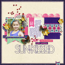 "Digital Scrapbook page created by Dana featuring ""Aztec Summer"" by Sahlin Studio"