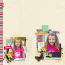 """Digital Scrapbook page created by aballen featuring """"Aztec Summer"""" by Sahlin Studio"""