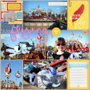 "Digital Scrapbook page created by bellbird featuring ""Project Mouse (Fantasy)"" by Sahlin Studio"