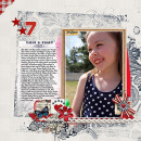 "Digital Scrapbook page created by heather prins featuring ""Country Fair Picnic"" by Sahlin Studio"