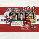 "Digital Scrapbook page created by kristasahlin featuring ""Country Fair Picnic"" by Sahlin Studio"