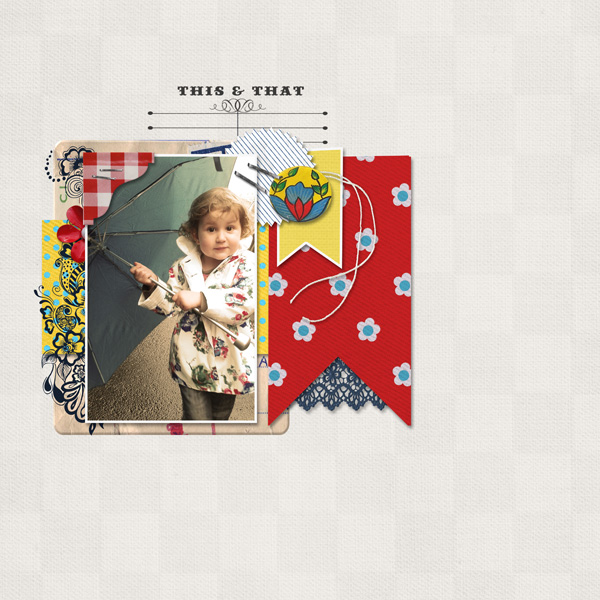 "Digital Scrapbook page created by mlleterramoka featuring ""Country Fair Picnic"" by Sahlin Studio"