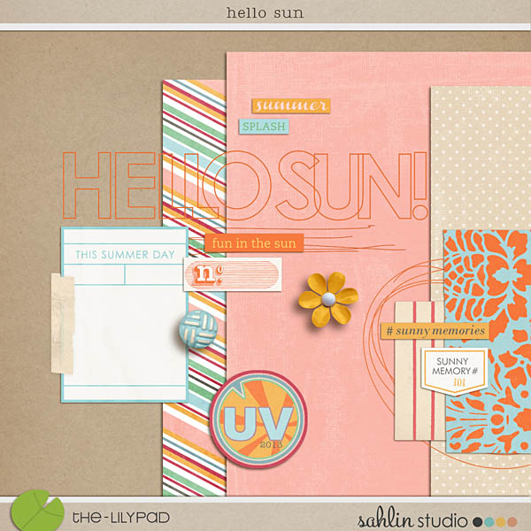 UV Summer collection - Hello Sun by Sahlin Studio
