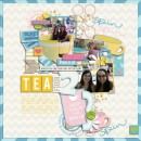 "Digital Scrapbook page created by fonnetta featuring ""Project Mouse (Fantasy)"" by Sahlin Studio"