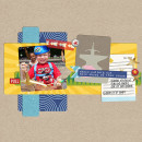 "Digital Scrapbook page created by holly featuring ""Project Mouse (Fantasy)"" by Sahlin Studio"