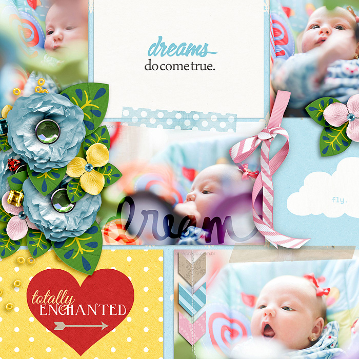 "Digital Scrapbook page created by juhh featuring ""Project Mouse (Fantasy)"" by Sahlin Studio"