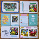 Project Life page created by kim21673 featuring Project Mouse (Fantasy) by Sahlin Studio & Britt-ish Designs