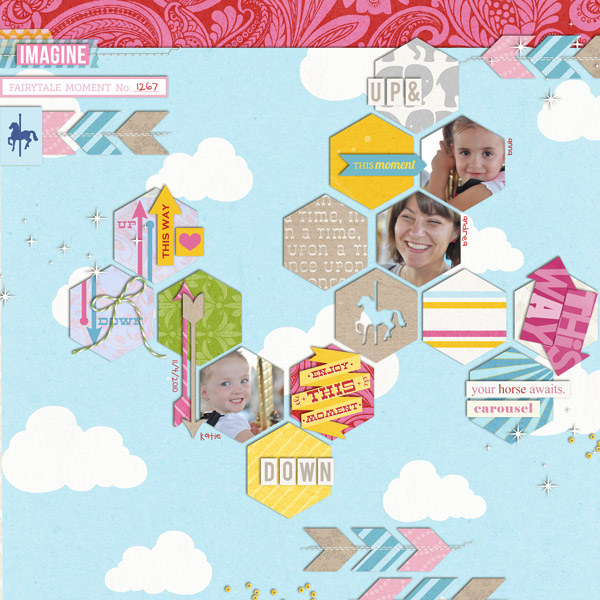 "Digital Scrapbook page created by neeceebee featuring ""Project Mouse (Fantasy)"" by Sahlin Studio"
