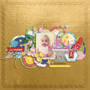 "Digital Scrapbook page created by scrappydonna featuring ""Project Mouse (Fantasy)"" by Sahlin Studio"