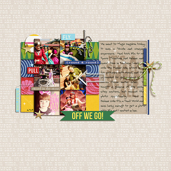 "Digital Scrapbook page created by stampin_rachel featuring ""Project Mouse (Fantasy)"" by Sahlin Studio"