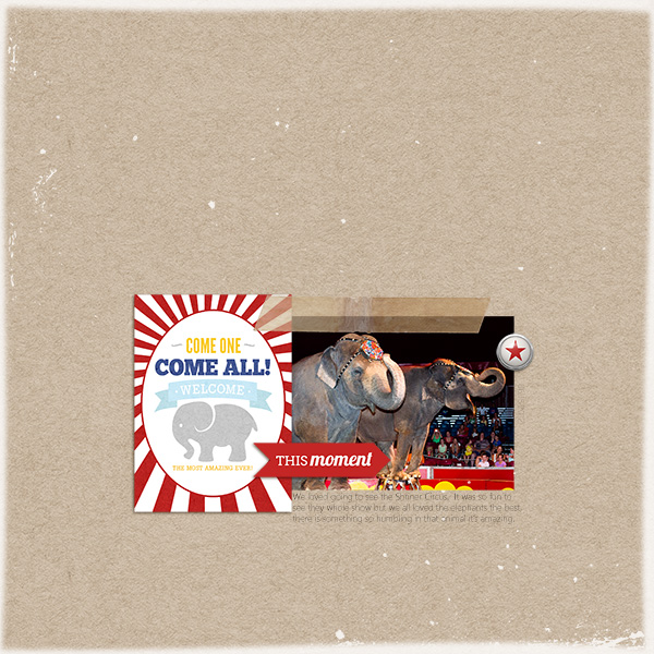 """Digital Scrapbook page created by taramck featuring """"Project Mouse (Fantasy)"""" by Sahlin Studio"""