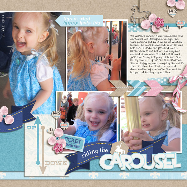 Disney digital scrapbook page created by yzerbear19 featuring Project Mouse (Fantasy) by Sahlin Studio & Britt-ish Designs