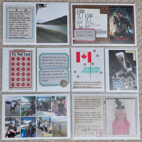 Hybrid Project Life Layout by ctmm4 featuring Apple Orchard by Sahlin Studio