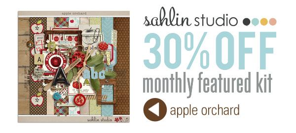 Apple Orchard by Sahlin Studio