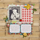 Digital Scrapbook Layout by jasmin featuring Apple Orchard by Sahlin Studio
