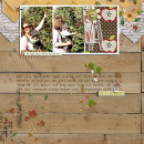 Digital Scrapbook Layout by jenny featuring Apple Orchard by Sahlin Studio
