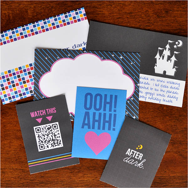 Disney Project Life style - Project Mouse: At Night After Dark by Sahlin Studio and Brittish Designs