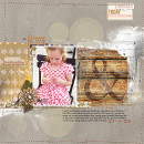 Fall / Autumn digital scrapbook layout by Heather Prins using Country Road by Sahlin Studio