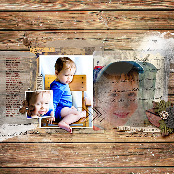 Then and Now layout by amberr using Country Road Kit, Country Road Journal Cards, Country Road Word Art by Sahlin Studio