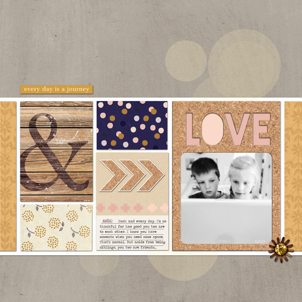 Everyday Is A Journey layout by ctmm4 featuring Country Road Kit, Country Road Journal Cards, Country Road Word Art by Sahlin Studio