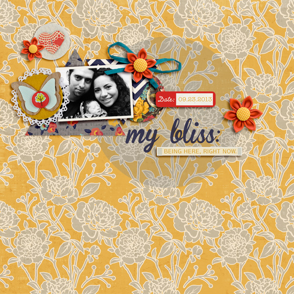 Digital Scrapbooking layout by raquels featuring Sahlin Studio's FREE September 2013 Template