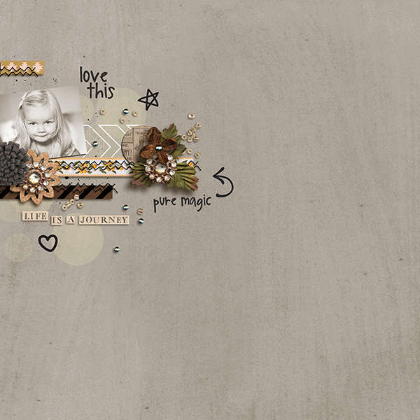 life is a journey layout by sucali using magical photo overlays by sahlin studio