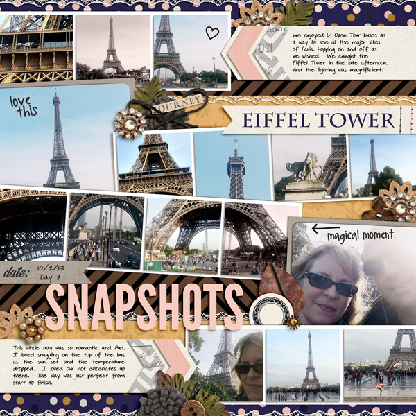 digital scrapbook layout by norton94 using magical photo overlay font by sahlin studio