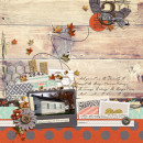 blessings layout by SmallMoments using Reflection kit by Sahlin Studio