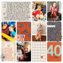 reflect on your blessing project life layout by britt using Reflection kit by Sahlin Studio