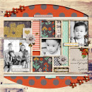 thankful layout by dianeskie using Reflection kit by Sahlin Studio